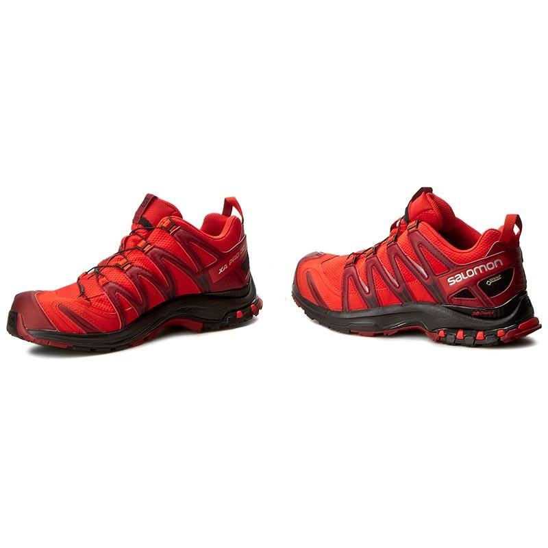 Shoes SALOMON - Xa Pro 3D Gtx GORE-TEX 393319 28 V0 Fiery Red/