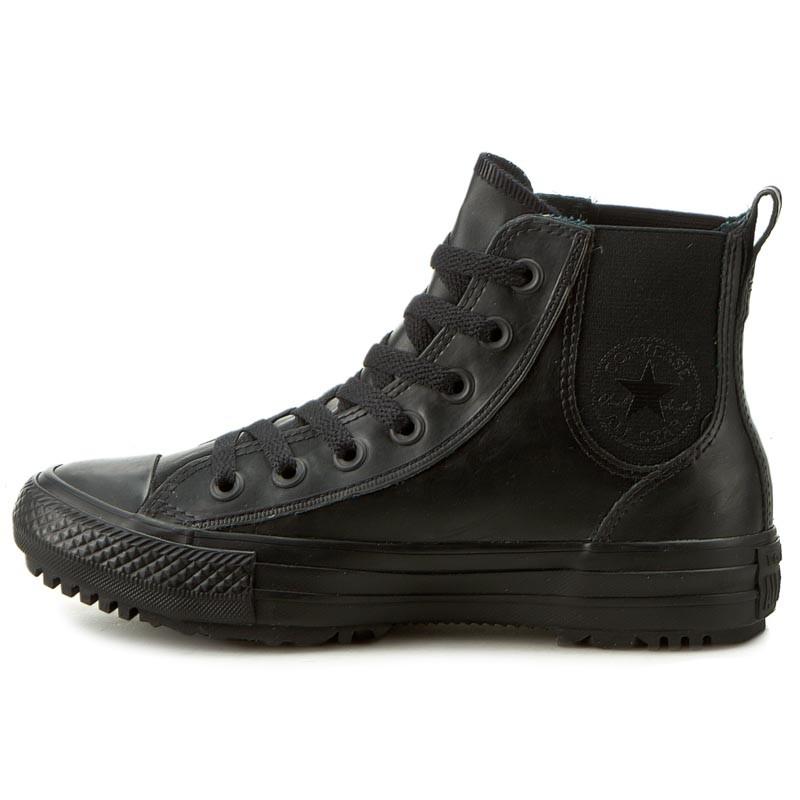 Sneakers CONVERSE - Ctas Chelsea Boot Rubber Hi 553264C Black/Black