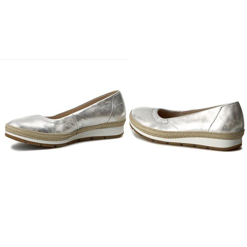 Espadrilles GABOR - 62.400.61 Silber (Jute)