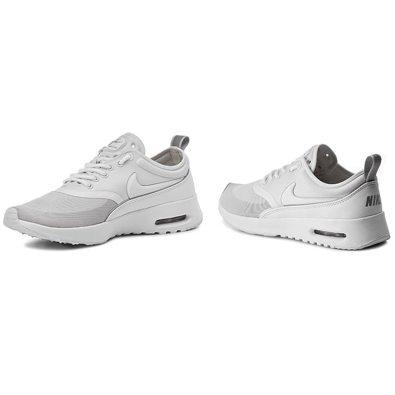 Shoes NIKE - Air Max Thea Ultra 844926 100 White/White/Metallic Silver