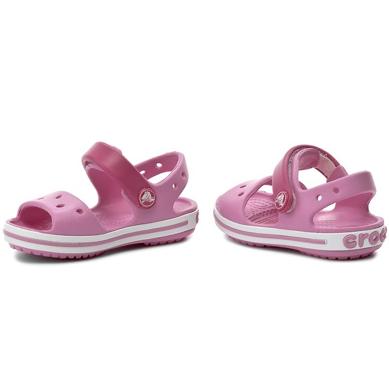 Sandalen CROCS - Crocband Sandal Kids 12856 Candy Pink/Party Pink PzB7jNkeZC