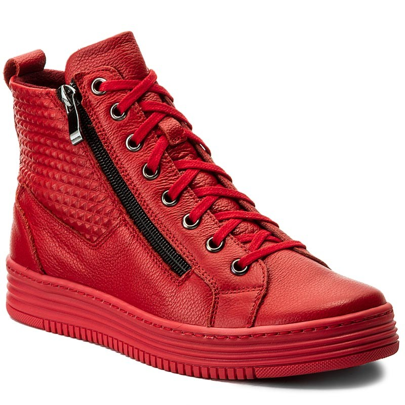 Sneakers NIK  0804950101202 Red  Sneakers  Low shoes  Womens shoes       0000199557576