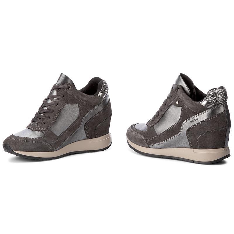 Sneakers GEOX - D Nydame A D540QA 0AJ22 C9278 Dk Grey/Anthracite svApI01c