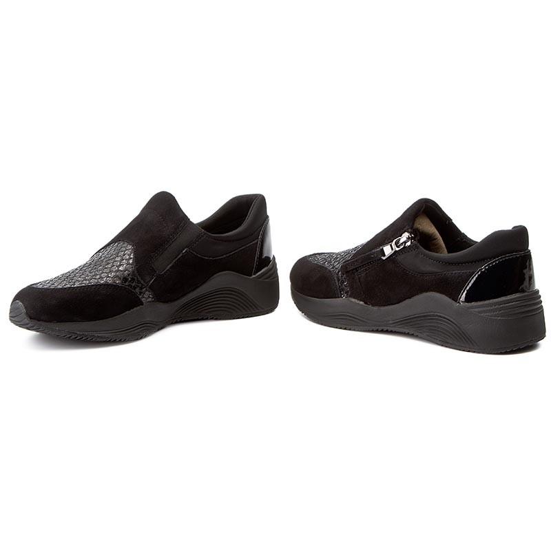 Sneakers GEOX - D Omaya A D620SA 021EW C9999 Black ECY1vEwwhR