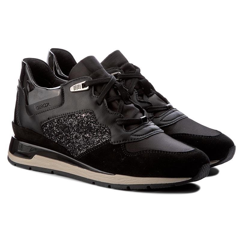 Sneakers GEOX - D Shahira B D62N1B 0EWBC C9999 Black XbIbh