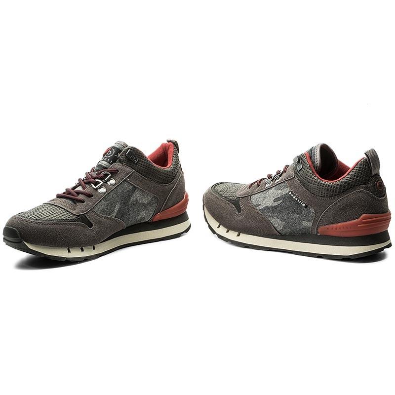 Sneakers BUGATTI - 321-30803-1400-1500 Grey Precio Barato De Moda Envío Libre Asequible Calidad Para La Venta Libre Del Envío Salida 100% Original Venta Bajo Precio De Envío De Pago esu4NRlX