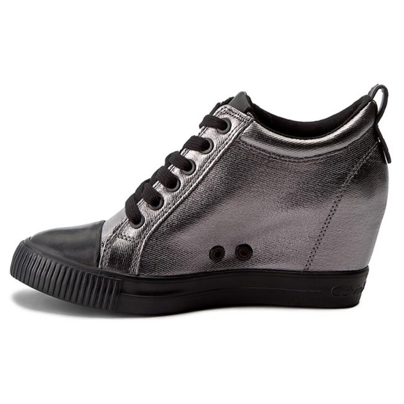 Sneakers Calvin Klein Jeans - Rory R0646 Pewter/black ZDtvrCt
