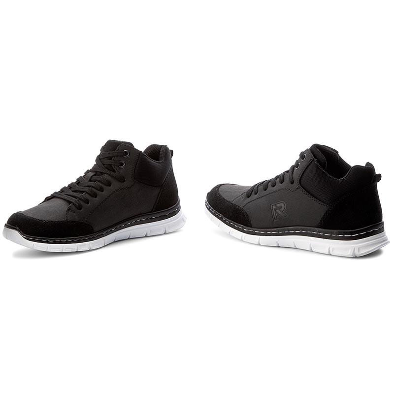 Sneakers RIEKER - B4814-00 Black Tienda De Oferta En Línea Envío Libre Más Barato Muy Barato Para La Venta Venta Tienda Online sShMfTU