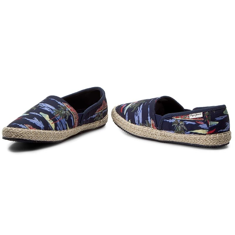 Espadrilles PEPE JEANS - Game Caribe PBS10082 Blue 575