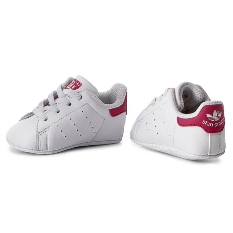 Schuhe adidas - Stan Smith Crib S82618 Ftwwht/Ftwwht/Bopink 8QmaNCfUlX