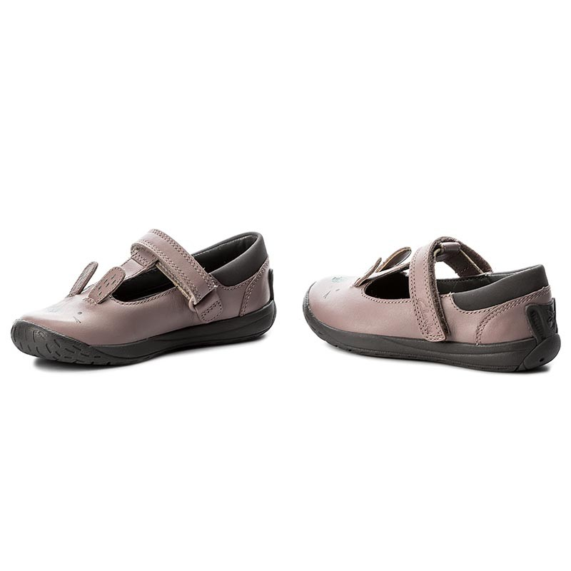 Shoes CLARKS - Puppet Fun Inf 261280726 Pink Leather