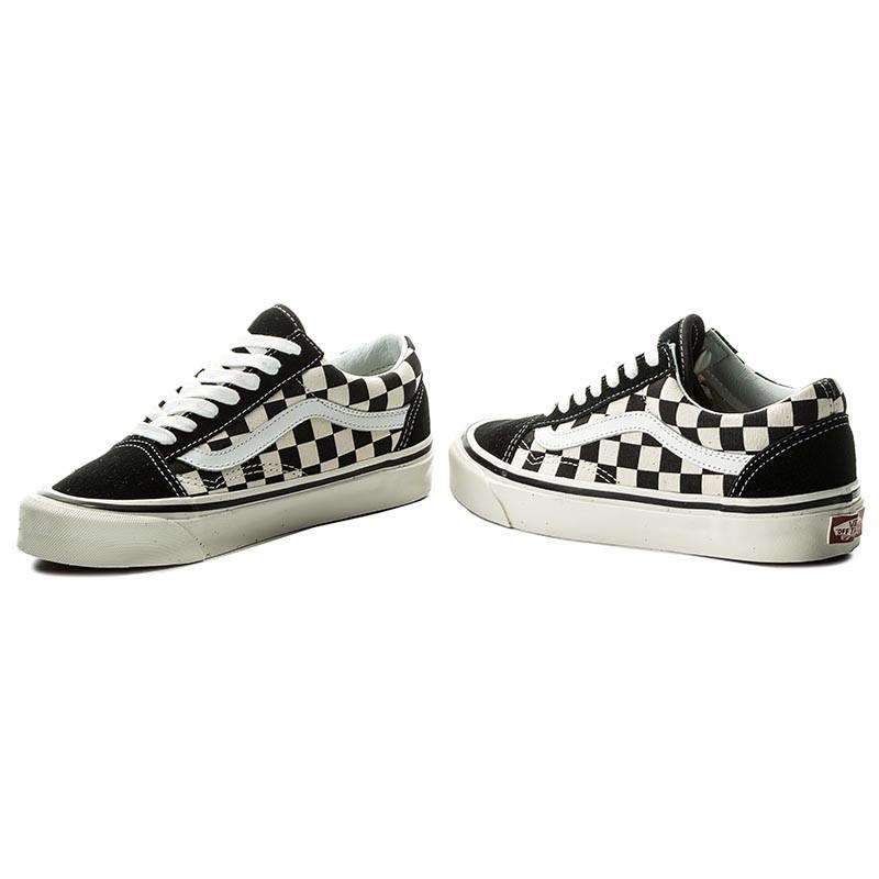 vans anaheim factory old skool 36 dx checkerboard sneaker