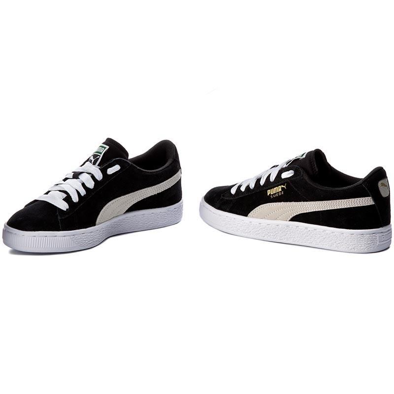 Sneakers PUMA - Suede Jr 355110 01 Black/White 1yI6x