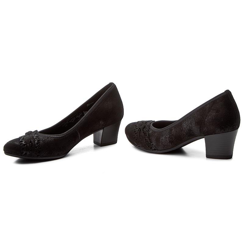 Shoes GABOR  4211397 Schwarz  Heels  Low shoes  Womens shoes       0000199877193
