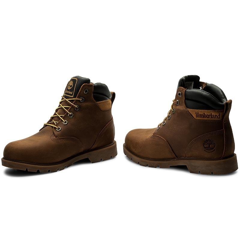 Timberland Leavitt Waterproof Lace Boot Dark Brown jSNmSl - redox ... 73540797486d