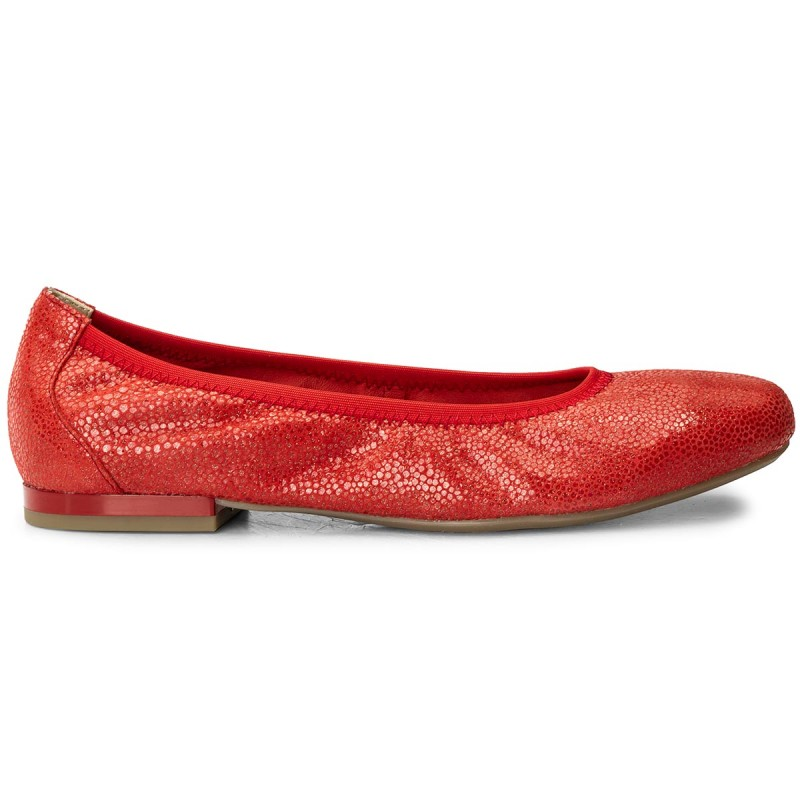 Flats CAPRICE - 9-22100-20 Red Multi 538