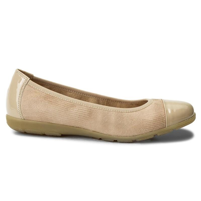 Ballerinas CAPRICE - 9-22152-20 Beige Rep Comb 411 WkyCFL