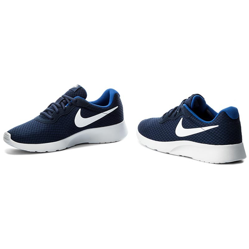 Shoes NIKE - Tanjun 812654 414 Midnight Navy/White Game Royal