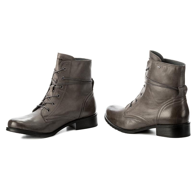 Boots WOJAS  666550 Popiel  Boots  High boots and others  Womens shoes       0000200026640