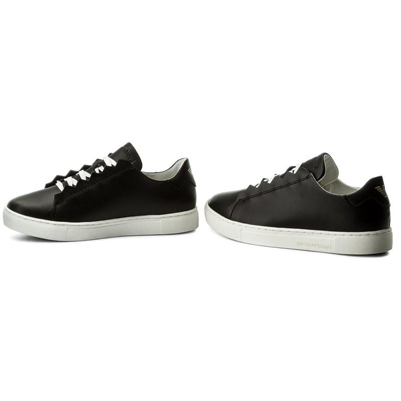 Sneakers EMPORIO ARMANI - X3X051 XF187 00002 Black