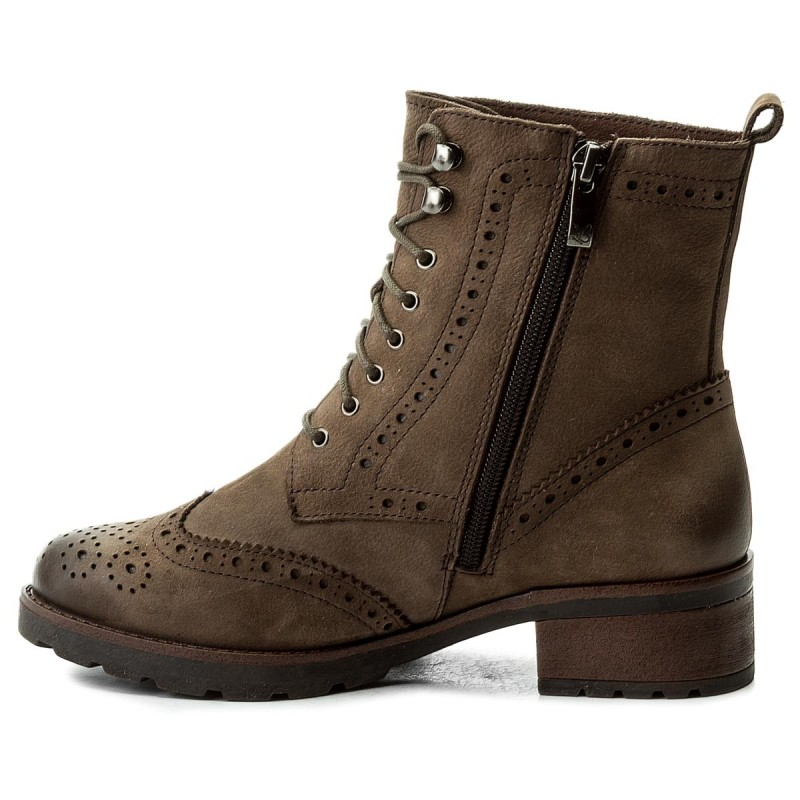 Boots CAPRICE  92621029 Taupe Nubuc 351  Boots  High boots and others  Womens shoes       0000200057309