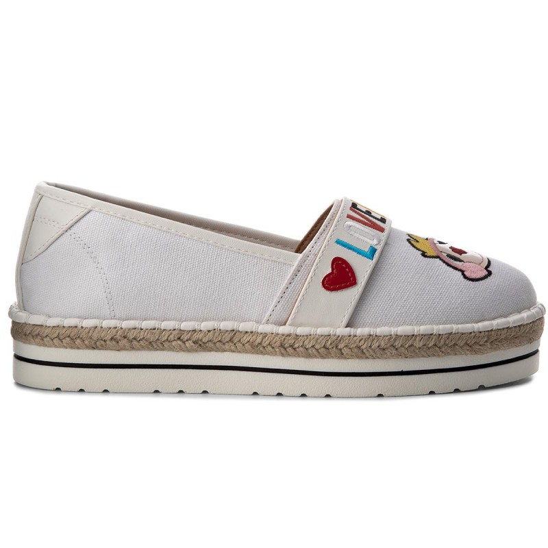 Espadrilles LOVE MOSCHINO - JA10113G15IE0100 Bianco