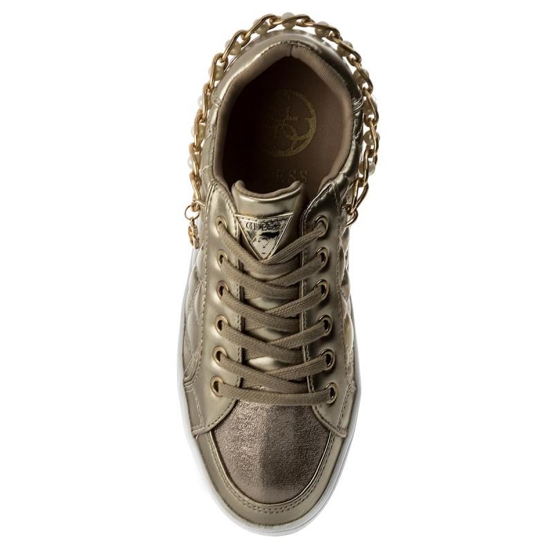 Sneakers Guess - Briann Flrnn2 Lel12 Gold sXrkuNH