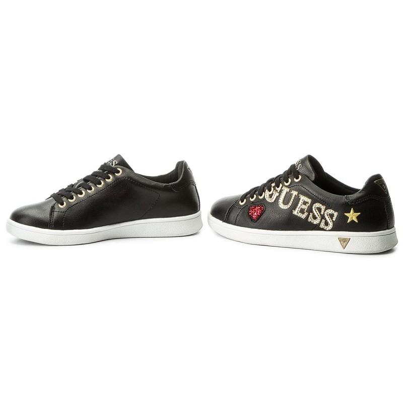 Sneakers GUESS - Super FLSPE1 LEA12 BLACK