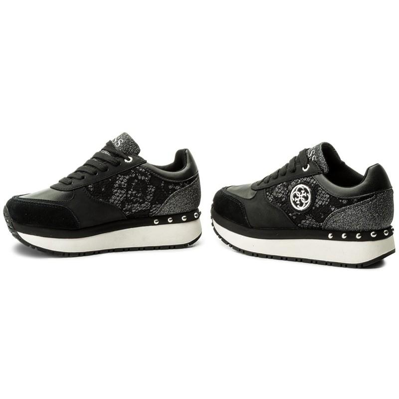 Sneakers Guess - Tiffany Fltif1 Lac12 Black Ubicaciones De Los Centros Comprar Barato Elección Envío Libre Con Paypal 23wMfM