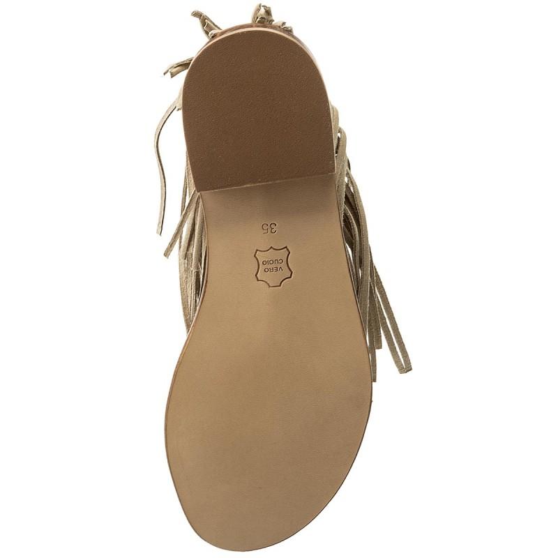 Sandalen TWINSET - Sandalo CS8TAN Dune Chiaro 023313 SCOjAZPAH