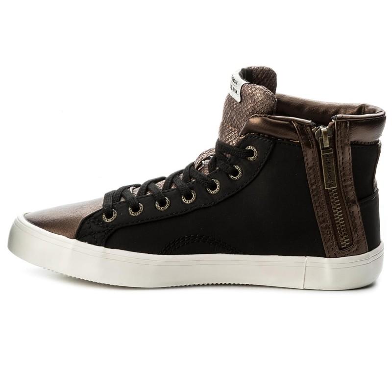 Sneakers PEPE JEANS - Clinton Stars PLS30569 Black 999 eLhSNKJHoo