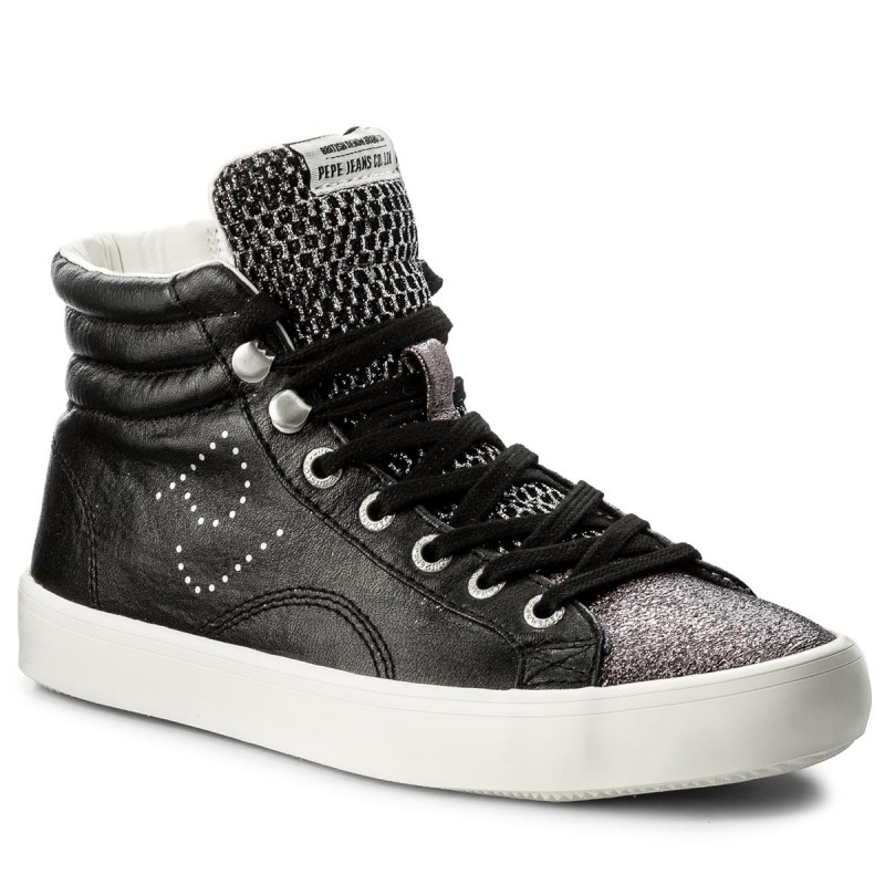 Sneakers PEPE JEANS - Clinton Mesh PLS30570 Black 999 QZitMdrp