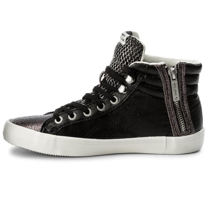 Sneakers PEPE JEANS - Clinton Mesh PLS30570 Black 999 vxQEevkfC