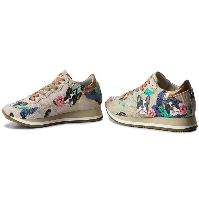 Sneakers PHILIPPE MODEL - Etoile TBLD EF04 Bulldog Buerre sKxPLKo6