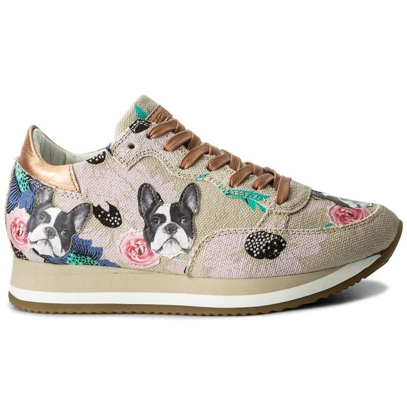 Sneakers PHILIPPE MODEL - Etoile TBLD EF04 Bulldog Buerre Tdy39g2kXZ