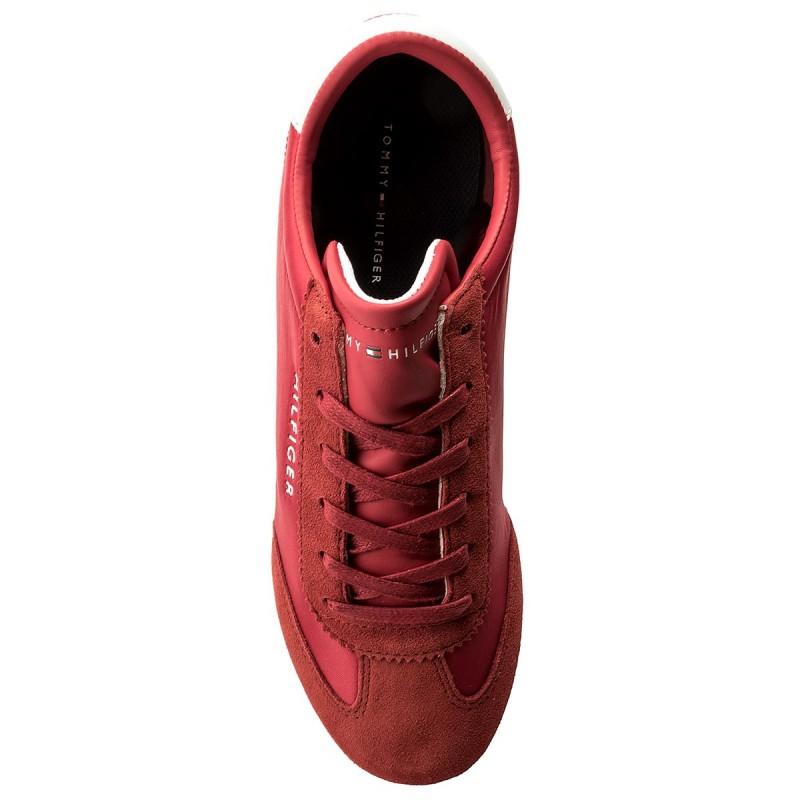 Visita Salida Sneakers TOMMY HILFIGER - Core Nylon Sneaker FM0FM01312 Tango Red 611 Muy Barato Venta En Línea Las Compras En Línea De Descuento UBWFn