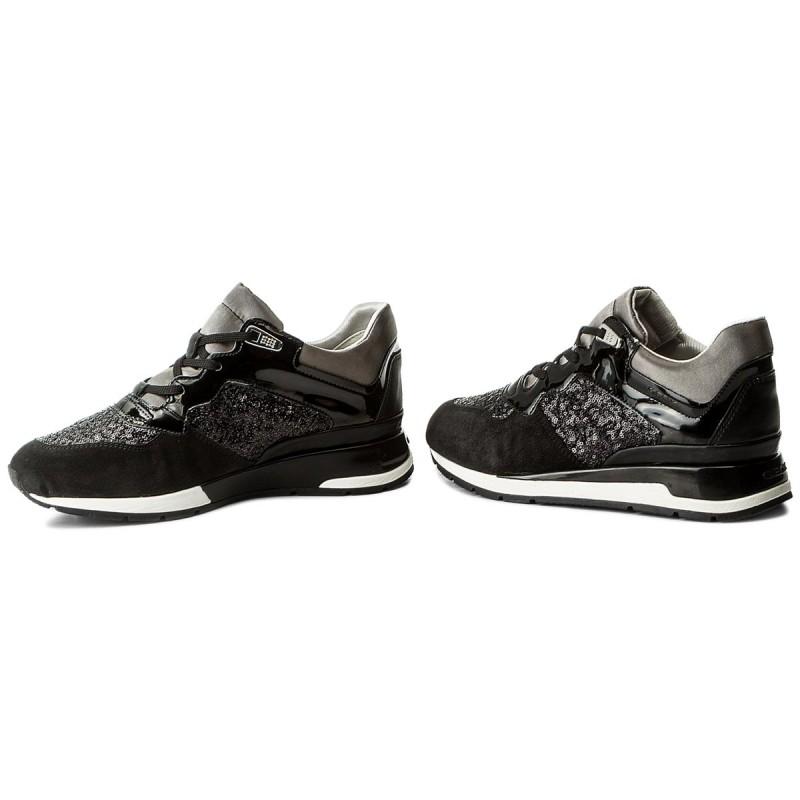 Sneakers GEOX - D Shahira B D62N1B 022AY C9999 Black poTvFqf