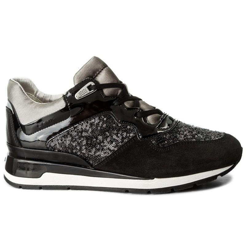 Sneakers GEOX - D Shahira B D62N1B 022AY C9999 Black Kbiyqv