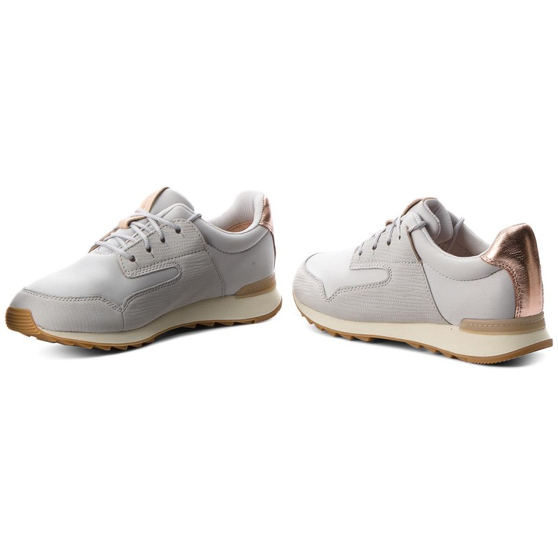 Sneakers CLARKS - Floura Mix 261309654 Ice Blue