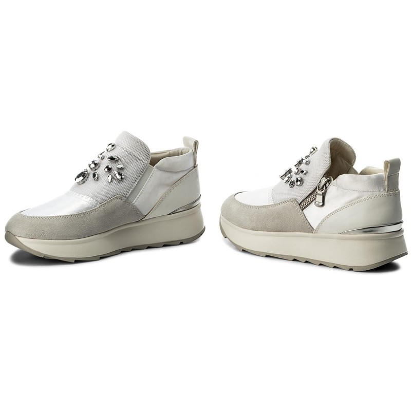 Sneakers GEOX - D Gendry A D745TA 01222 C1002 Off White NqO8m1
