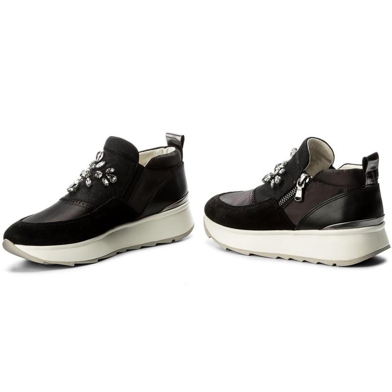 Sneakers GEOX - D Gendry A D745TA 01222 C9999 Black ZVVF7ge