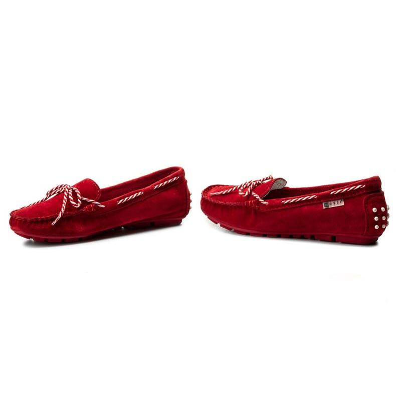 Mokassins NESSI - 18307 Czerwony W i5qSUn8FG