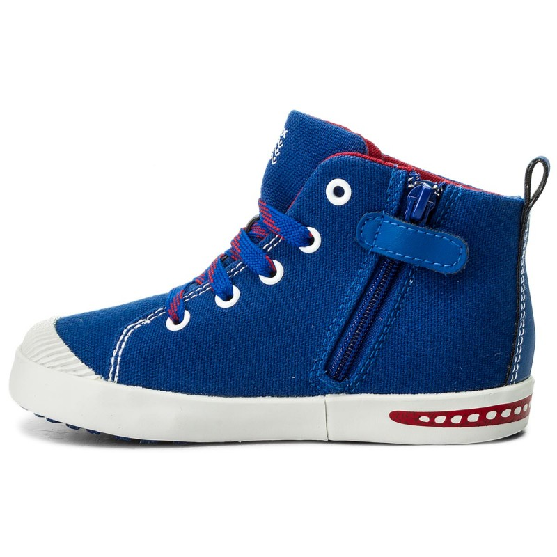 Boots GEOX B Kilwi B F B82A7F 010BC C4248 S Navy/Green Brand Boots For Boy