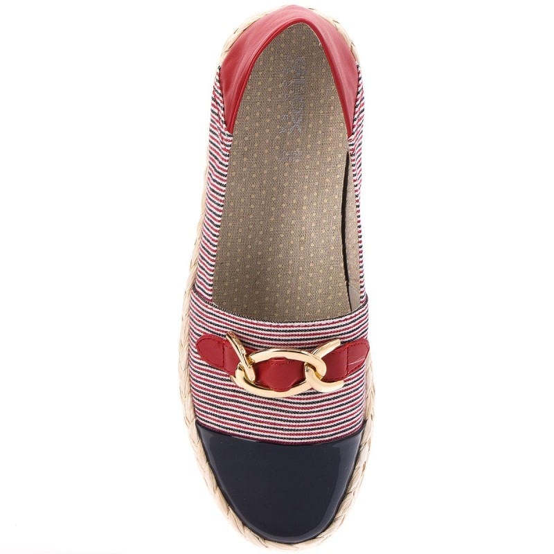 Espadrilles GEOX - D Modesty E D8229E 0AWHH C4181 Navy/White/Red lN65IW