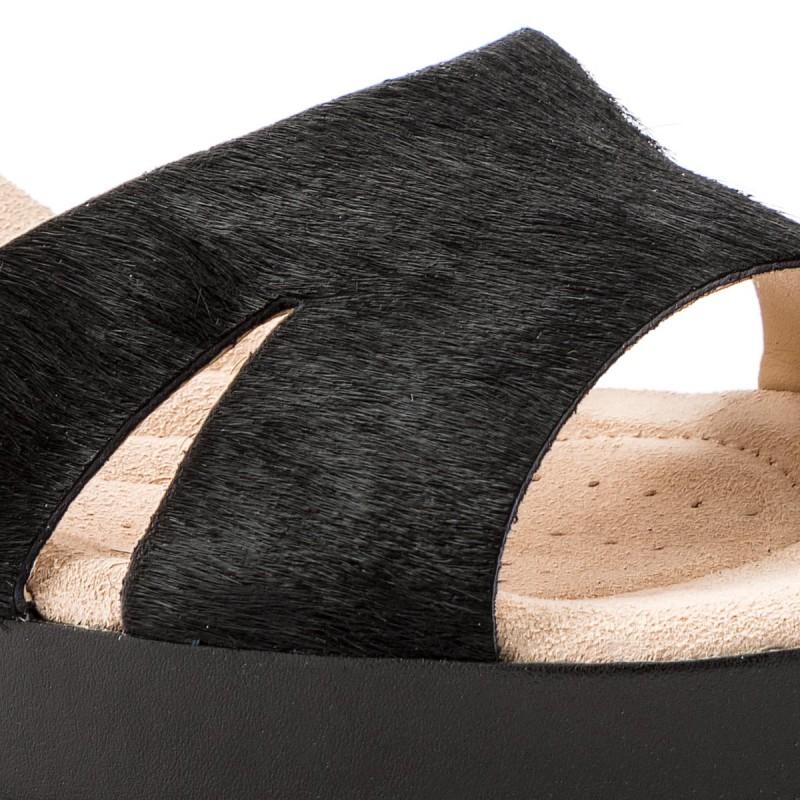 Sandalen CLARKS - Akilah Eden 261341034 Black Leather fOfwn