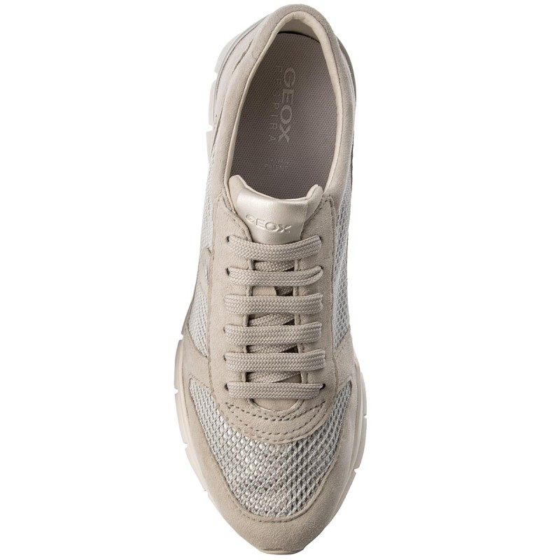 Sneakers GEOX - D Sukie A D52F2A 021GN C1008 Ivory 3MNWU
