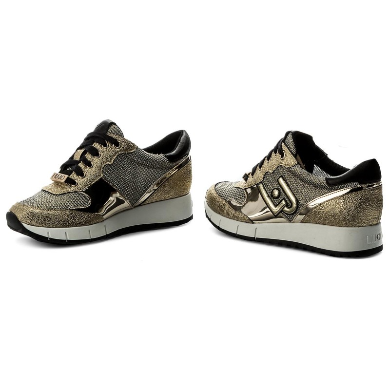 Sneakers LIU JO - Linda B18001 E0506 Gold 00529