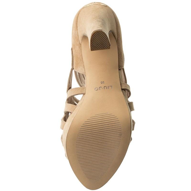 Sandalen LIU JO - Sandalo Opentoe S18051 P0021 Camel 01402 e5m1mP