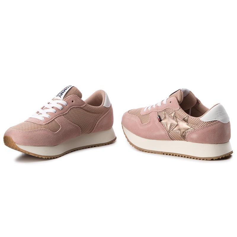 Sneakers TOMMY JEANS - Star Sneaker EN0EN00168 Mahogany Rose 634 hVPKb7n
