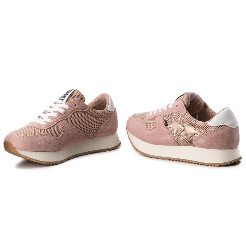 Sneakers TOMMY JEANS - Star Sneaker EN0EN00168 Mahogany Rose 634 2pHoHnO